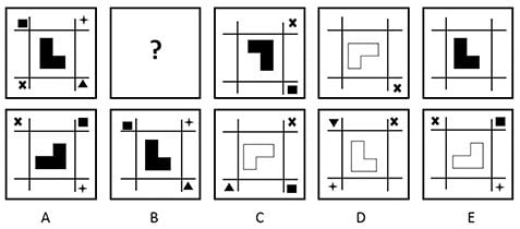 Kent Test Non verbal Reasoning Question 4
