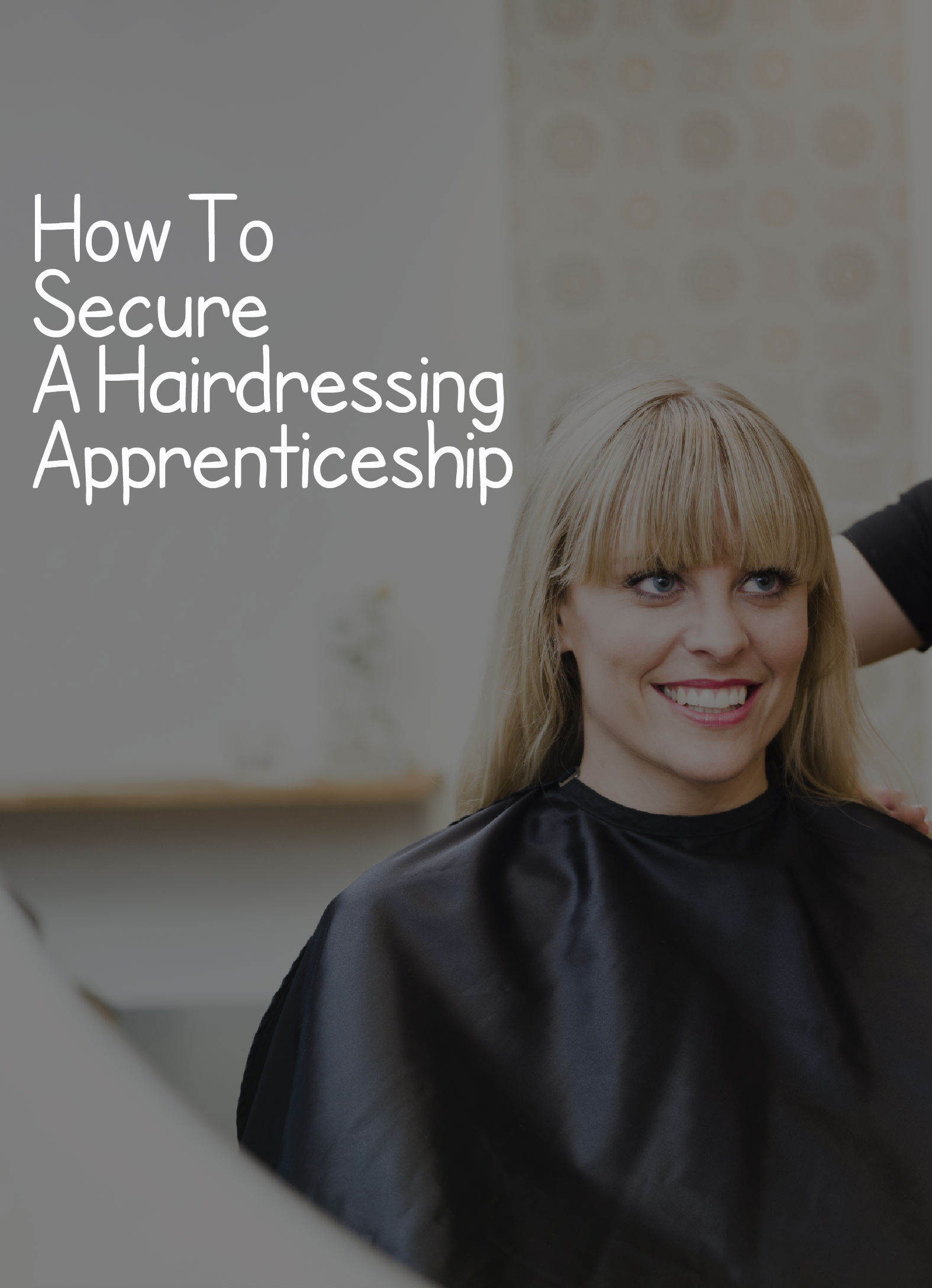 1st year apprentice hairdressing resume