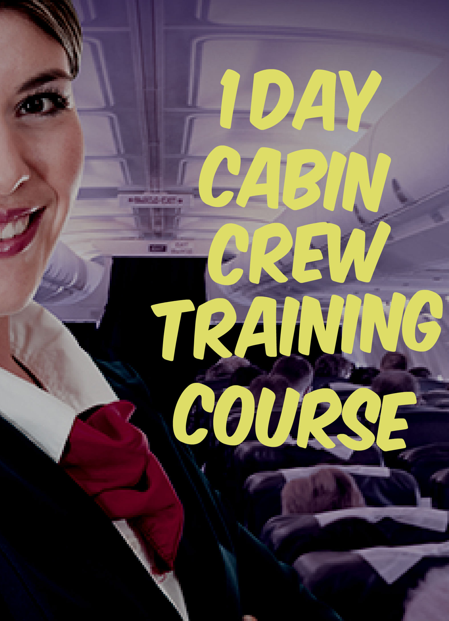 1 2 1 cabin crew training course pass the selection