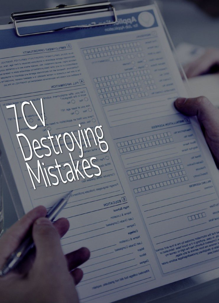 7 cv destroying mistakes