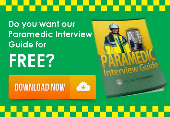 Becoma A Paramedic Free Interview Guide Blog Banner