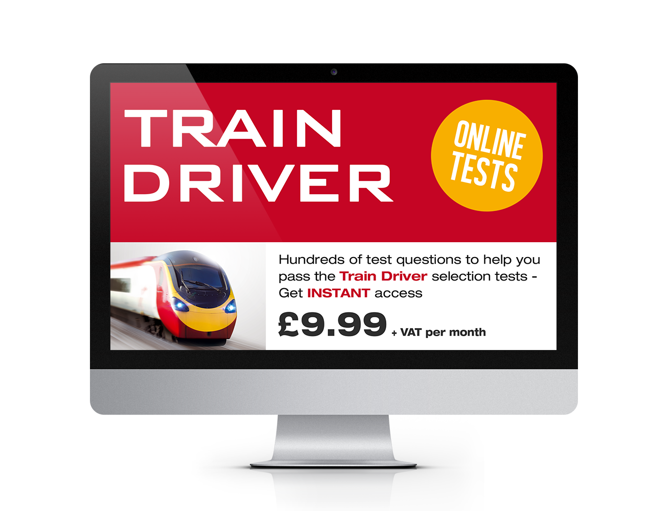 trainee train driver assessments - online train tests