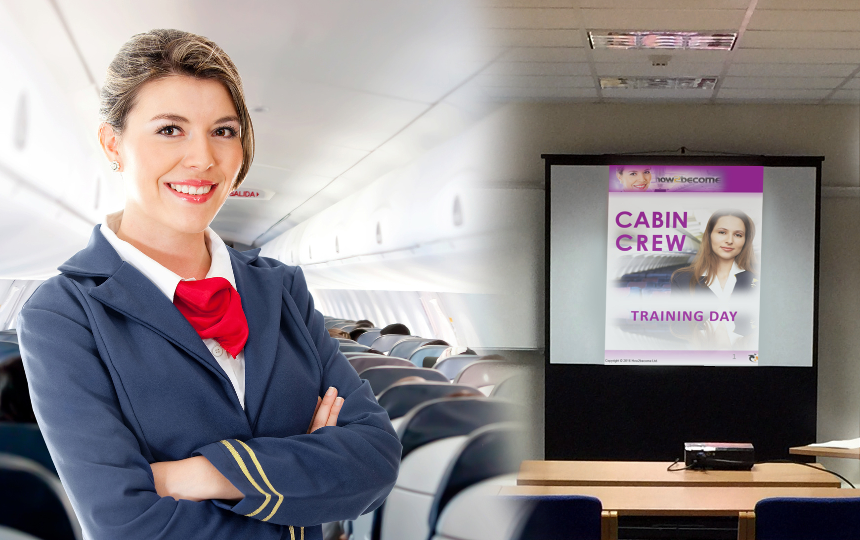YOUR 1-2-1 Full-Day Cabin Crew Training Course