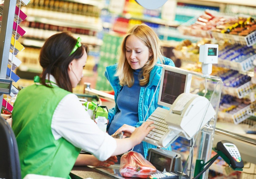 there are a whole range of supermarket jobs available