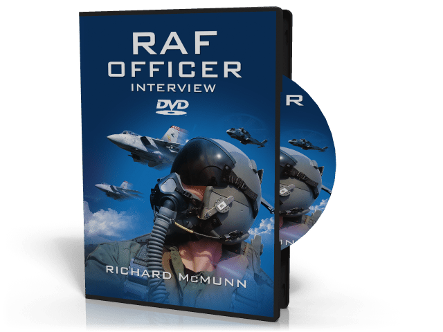 our raf officer dvd will help with your initial officer training
