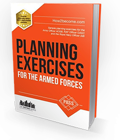 PLANNING EXERCISES for the Army Officer, RAF Officer, and Royal Navy Officer Selection Processes