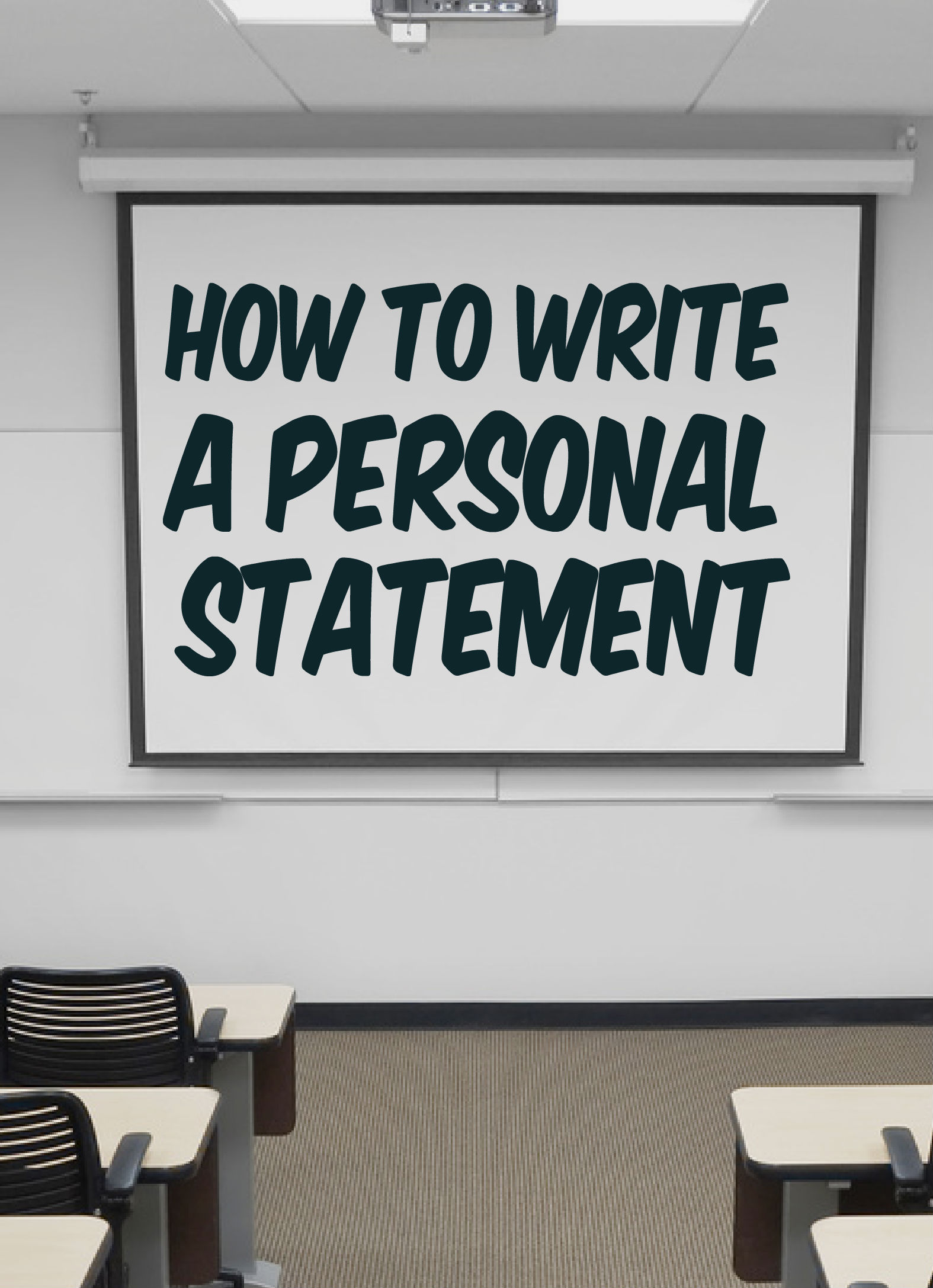 How to write personal statement for ucas