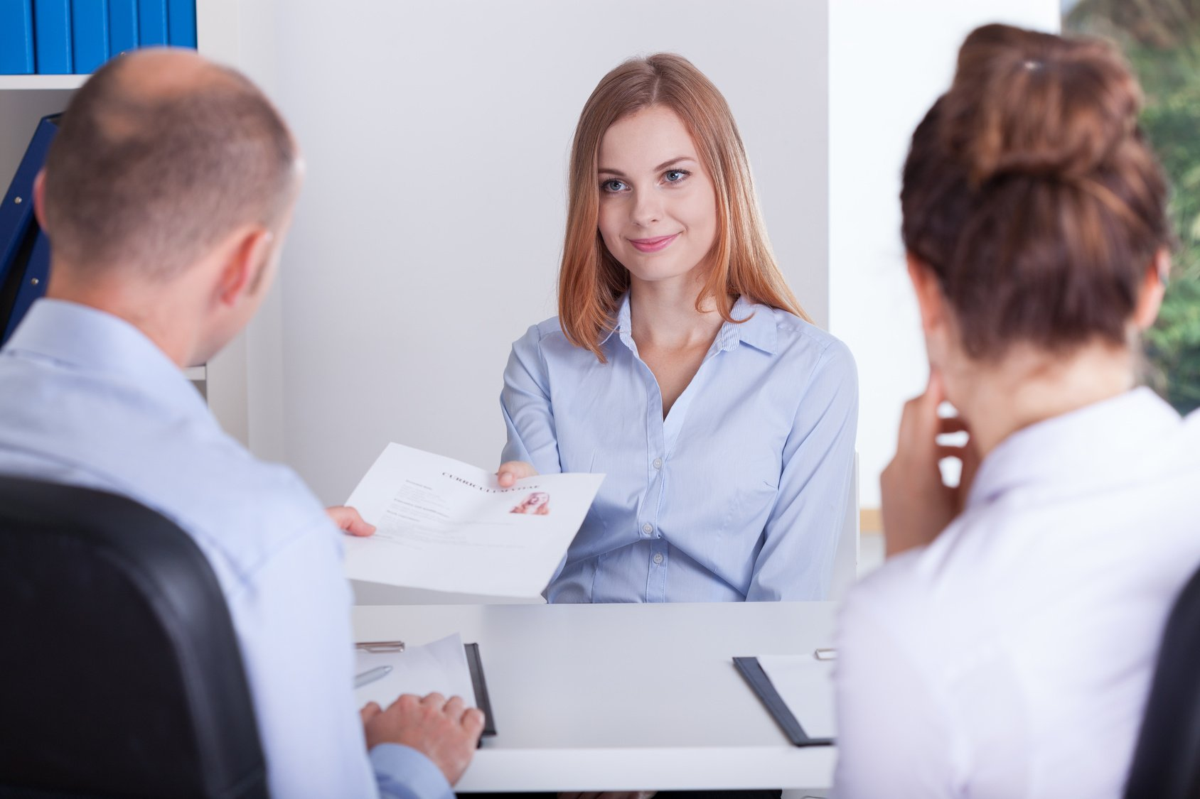make sure you maintain good eye contact, as this is great interview etiquette