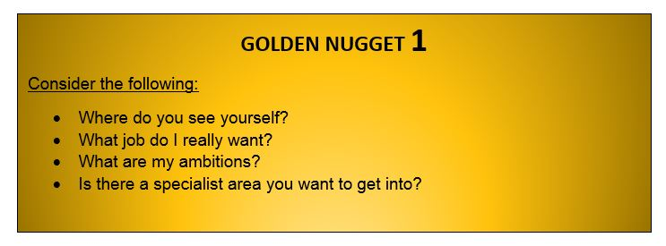 to get jobs after graduation you need some golden nuggets