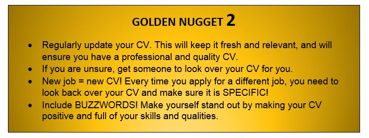 want jobs after graduation? check out our golden nuggets
