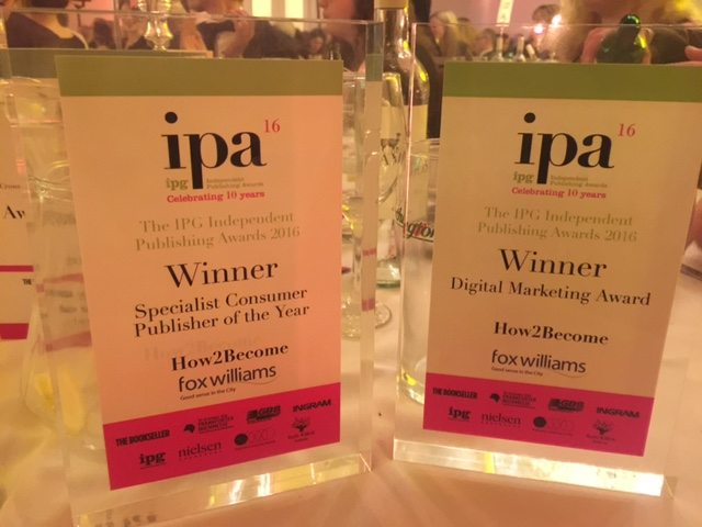 the 2 IPG awards that How2Become won