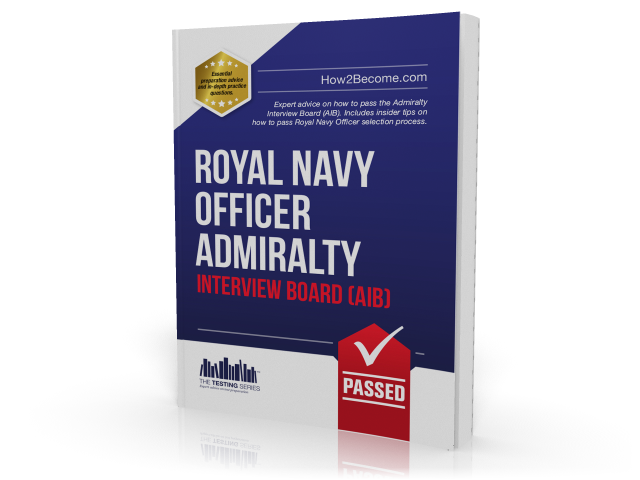 Royal Navy Officer Admirality Interview Board AIB Workbook Cover
