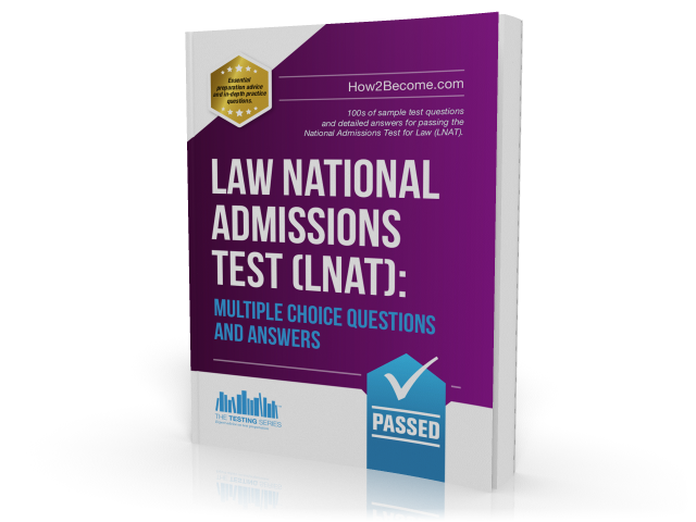 Law National Admissions Test (LNAT): Multiple Choice Questions and Answers guide