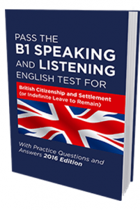Preparing for the b1 speaking and listening exam, will get you ready for life in the united kingdom