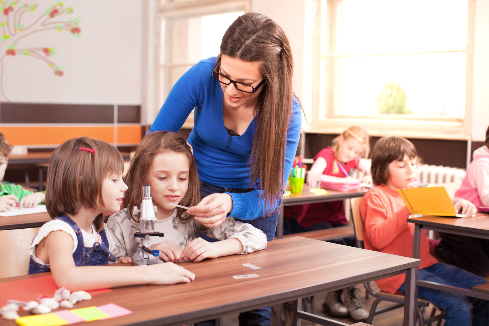 in order to work with your students, you must learn how to manage the classroom