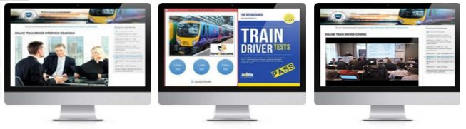 Online Trainee Train Driver Course Preview Images