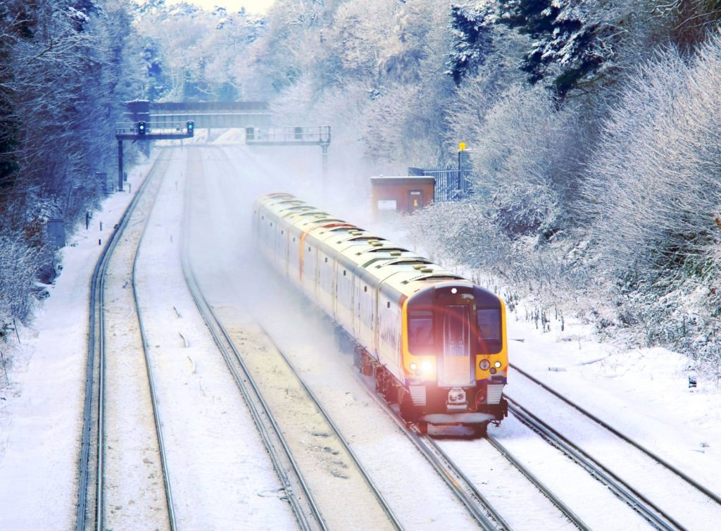 Recent Train Driver Jobs for London Commuter Trains in the Snow