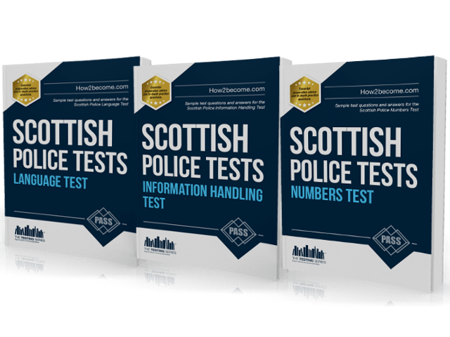 the scottish police officer recruitment tests are equally difficult