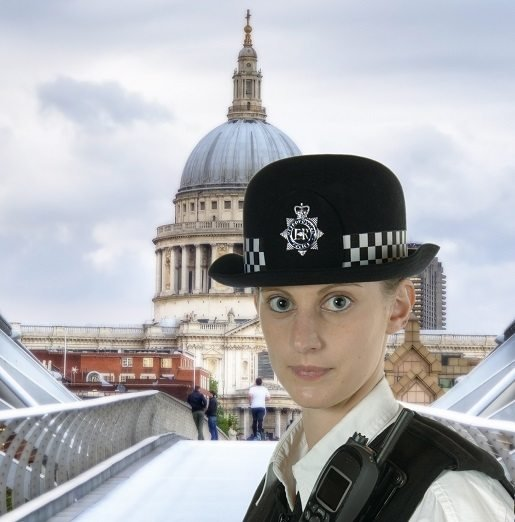 UK Police women must pass the police officer recruitment process