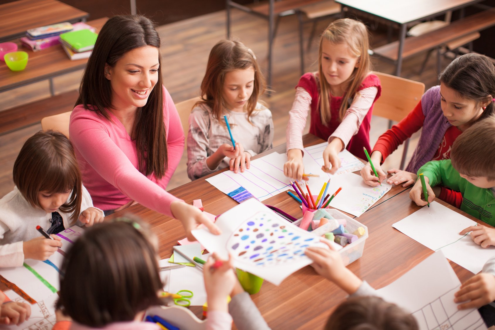 the role of a teacher differs depending on what age your students are