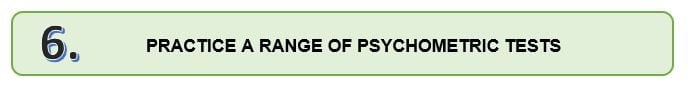 top tips for passing psychometric tests 6