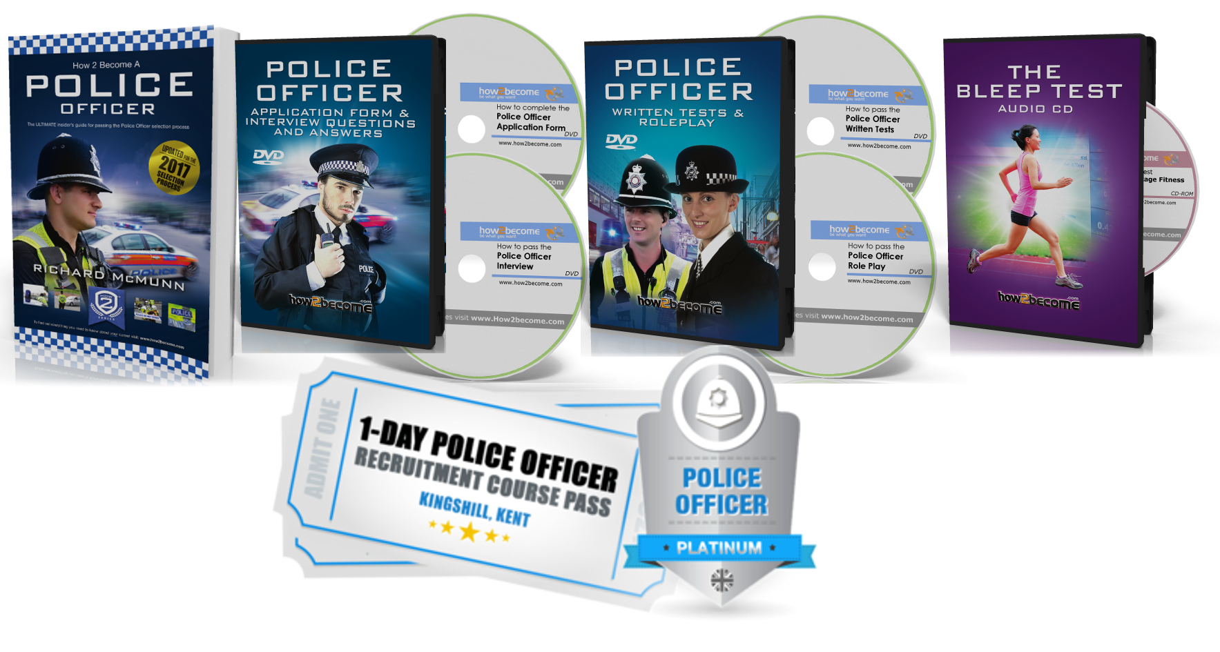 become a police officer join the police force in 2017 new platinum package