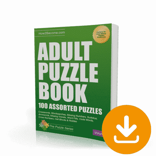Adult Puzzle Book Download