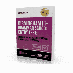 Birmingham 11+ Grammar School Entry Test