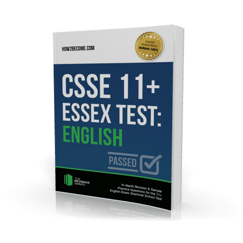 CSSE Essex 11+ Test English