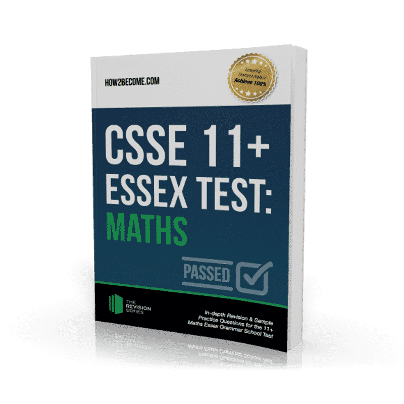 CSSE Essex 11+ Test Maths