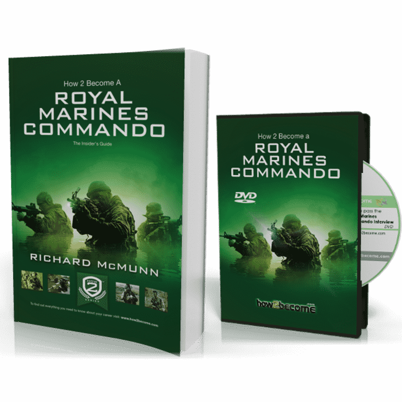 How to Become A Royal Marines Commando 200 page Book + Interview DVD