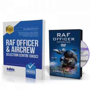 How to Become An RAF Officer Workbook + Interview DVD