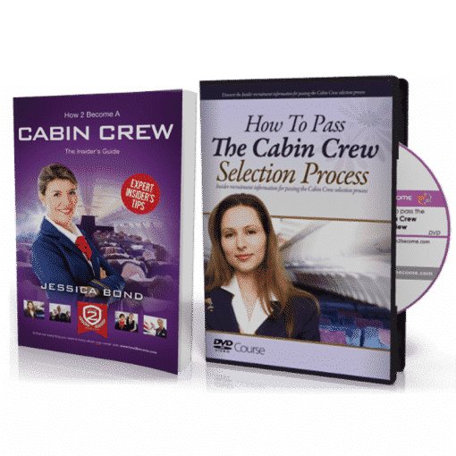 How to Become Cabin Crew Book + Interview DVD