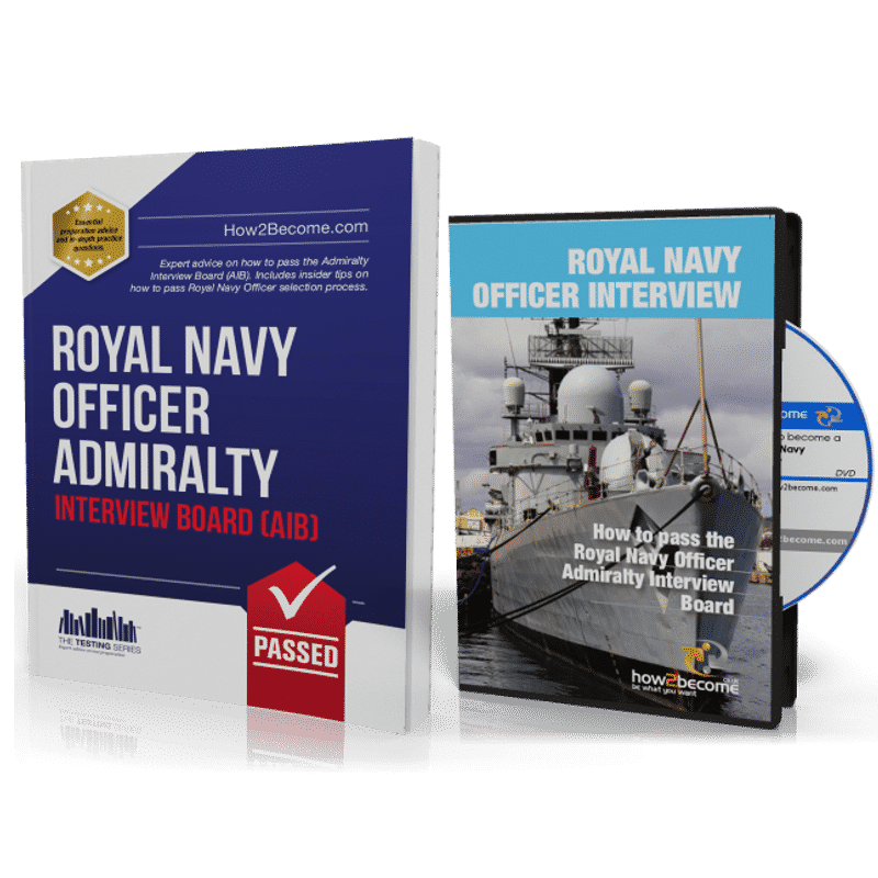 How to Become a Royal Navy Officer + Interview DVD