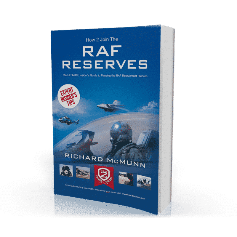 How To Join The Royal Air Force Reserves Guide Raf Interview Dvd