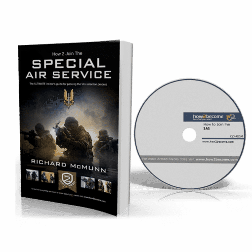 How to Join The Special Air Service Book + CD-Rom