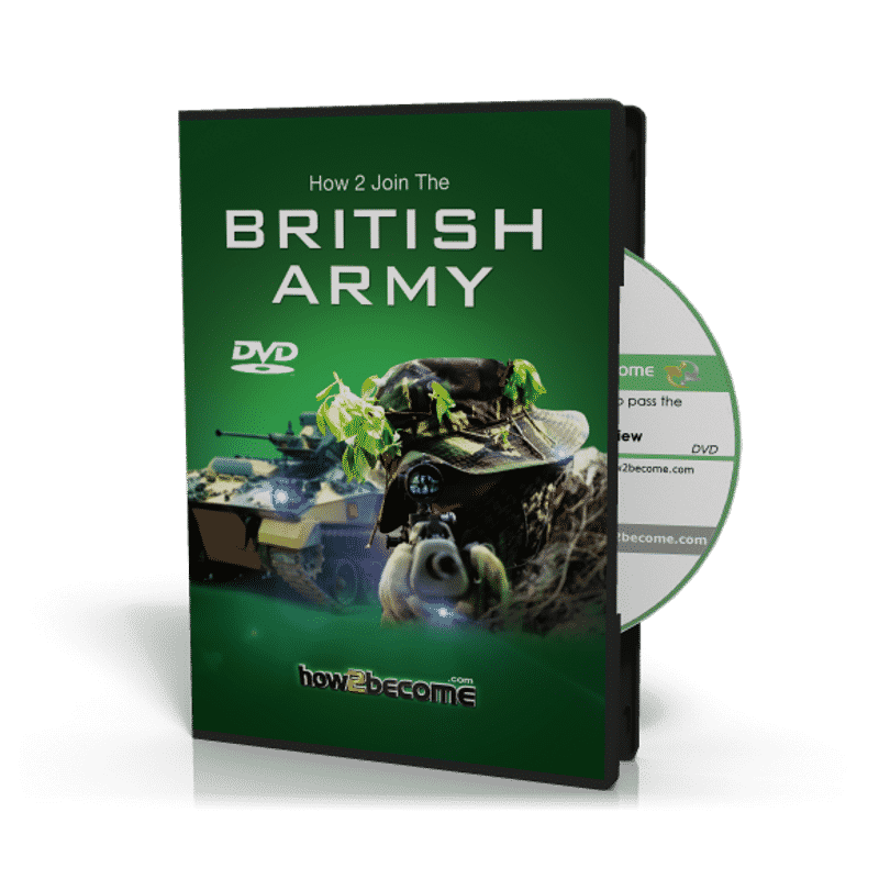 How to Join the British Army Interview DVD