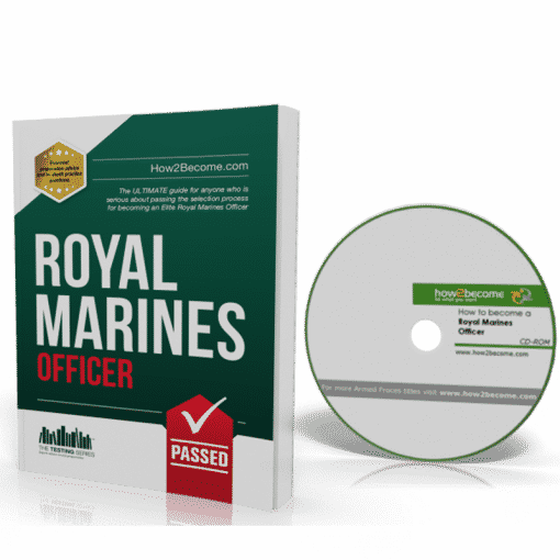 How to become a Royal Marines Officer Workbook + Interview CD ROM