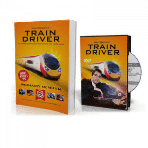 How to become a Train Driver Book + Interview DVD