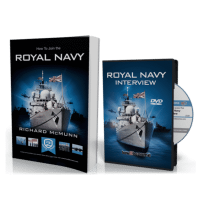 How to join the Royal Navy + interview DVD