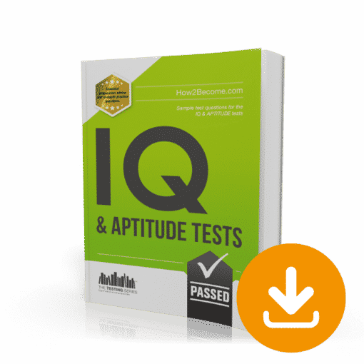 IQ and Aptitude Tests Workbook Download
