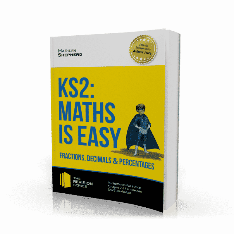 KS2 Maths is Easy - Fractions, Decimals and Percentages Workbook