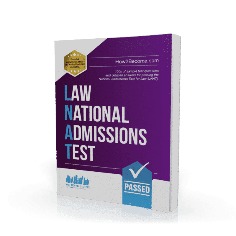 Law National Admissions Test Book