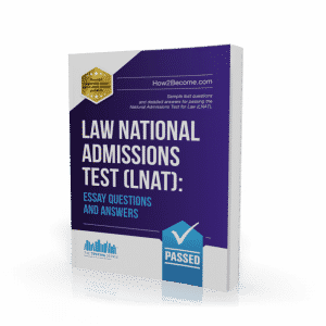 Law National Admissions Test Essay Questions and Answers Book
