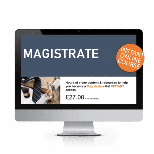Magistrate Online Training Course
