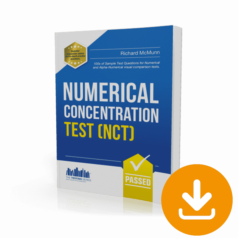 Numerical Concentration Tests - Immediate Download