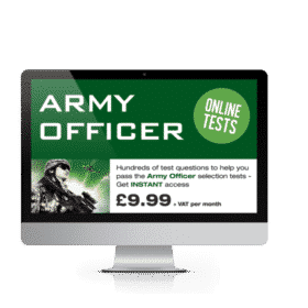 army officer tests