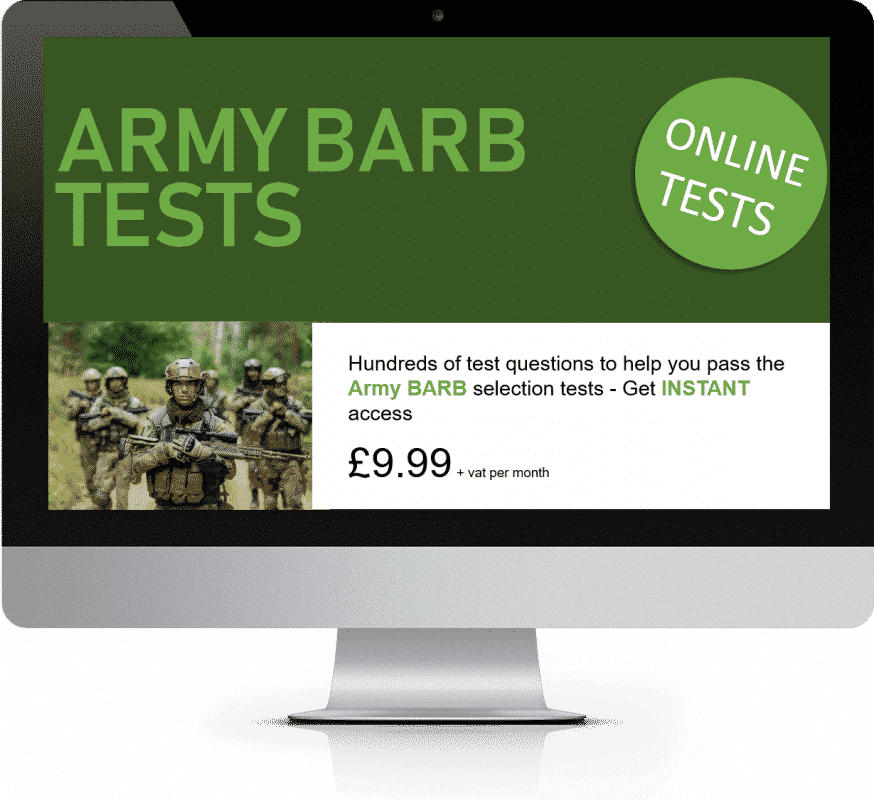 Online Interactive Army BARB Practice Tests