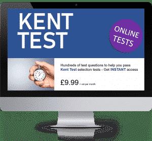 Online Interactive Kent Test Practice Tests