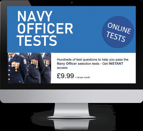 Online Interactive Navy Officer Practice Tests